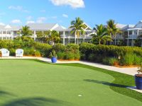 The putting green at Tranquility Bay.